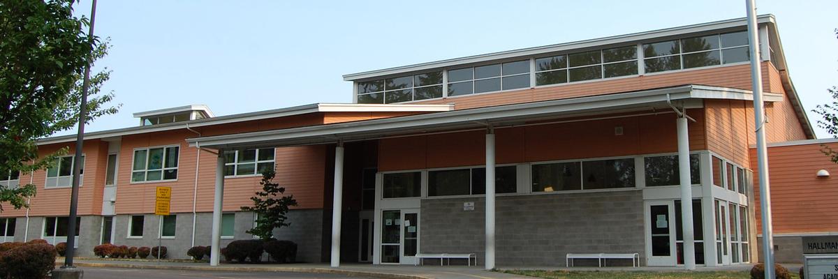 Hallman elementary entrance