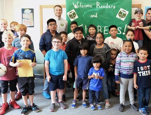Hallman Summer Library Program Gets Visit from Timbers U23 Soccer Players